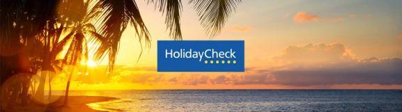 HolidayCheck Urlaub Stimmung Banner