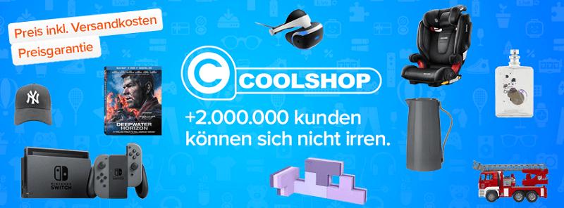 Coolshop Sortiment Versandkosten Preisgarantie