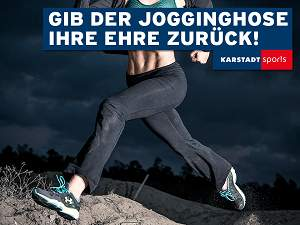 Karstadt Sports Jogginghose