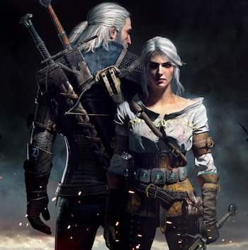 the witcher 3 geralt ciri