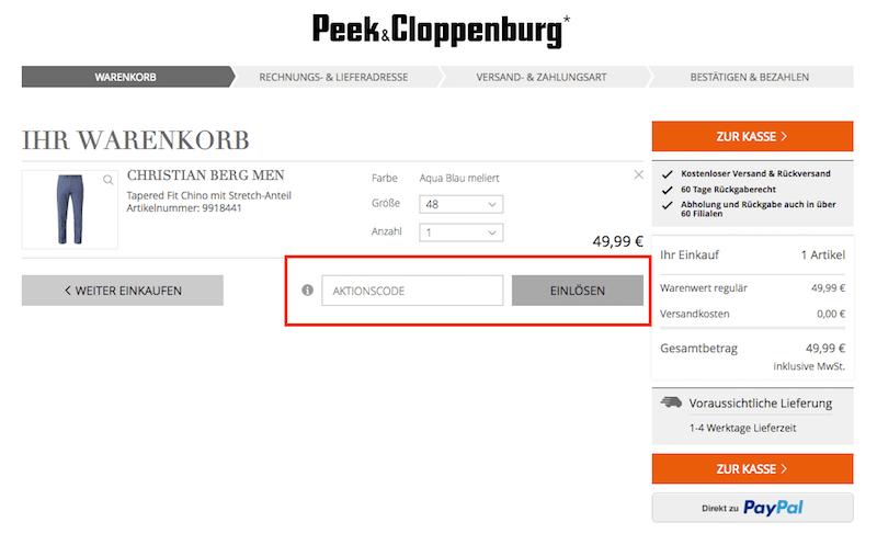 990e949a7ecf Peek & Cloppenburg* KG Düsseldorf Gutschein ⇒ Rabatt sichern August ...
