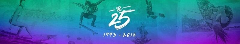 Planet Sports 25 Jahre