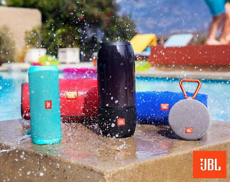 JBL Bluetooth Lautsprecher waterproof