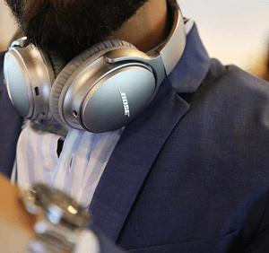 Bose Shop QuietComfort 35 wireless headphones