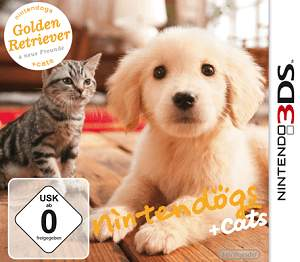 Nintendo 3DS Spiele Nintendogs and Cats