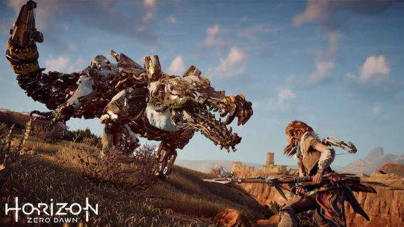 ps4 exklusivtitel horizon zero dawn