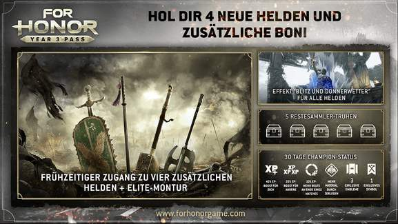 For Honor Season Pass Year 3