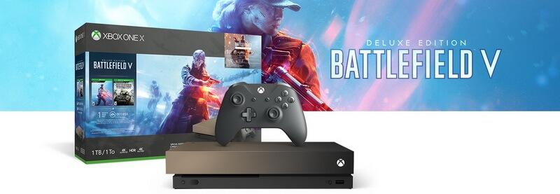 Xbox One X Bundle Battlefield 5