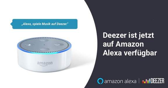 Deezer Amazon Alexa