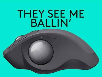 logitech maus trackball