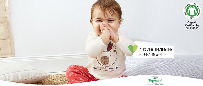 Ernsting's family Baby Kleidung Bio Baumwolle