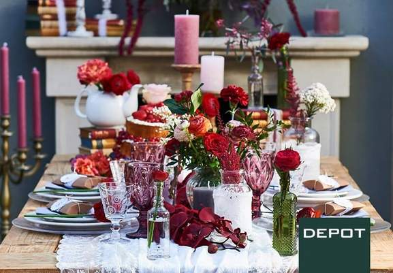 DEPOT Hochzeitsdeko