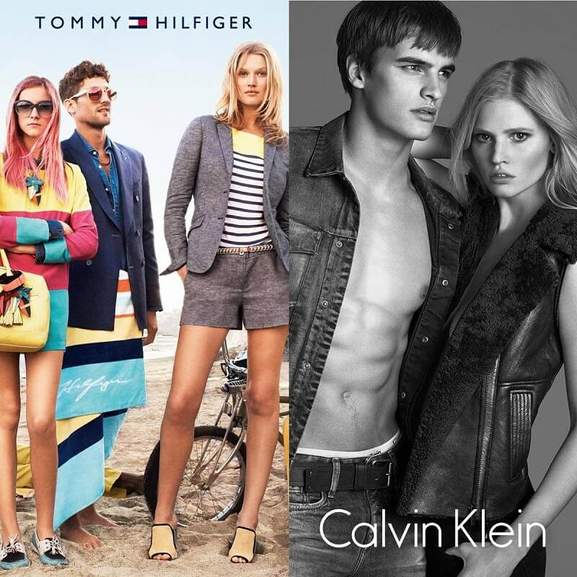 dress-for-less Tommy Hilfiger Calvin Klein Designermode