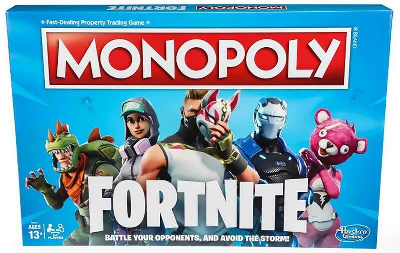 Zavvi.com Monopoly Fortnite