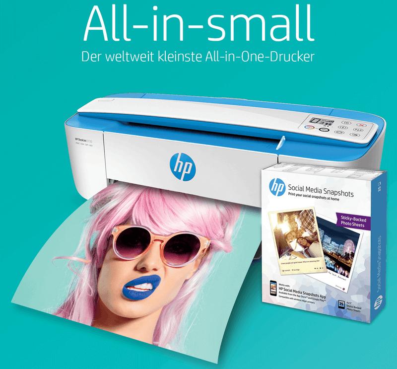 HP Drucker HP DeskJet 3720