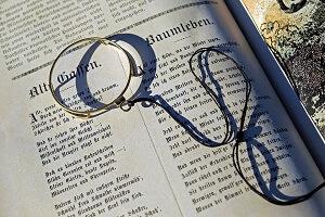 Brillen Monokel