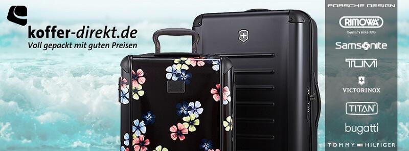 koffer-direkt.de voll gepackt mit guten Preisen