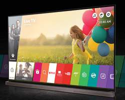 LG OLED Fernseher Signature