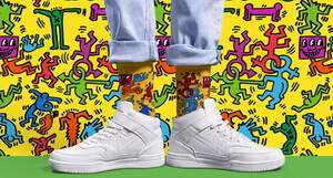 Happy Socks Keith Haring Limited Edition