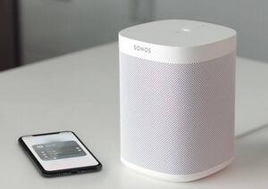 Sonos One und Sonos App