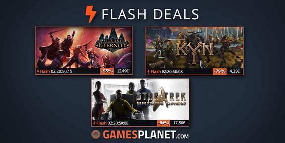 Gamesplanet Flash Deals