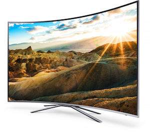samung curved tv hdr