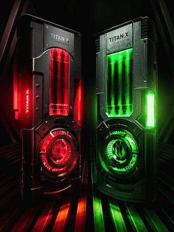 nvidia titan star wars