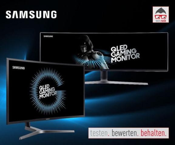 ALTERNATE techrush Samsung QLED Monitor TV