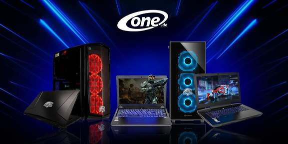 ONE.de Gaming PCs und Gaming Laptops