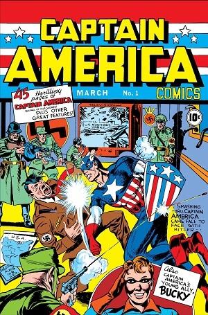 Marvel Comic Captain America