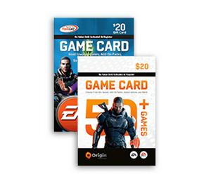 Origin EA Game Card