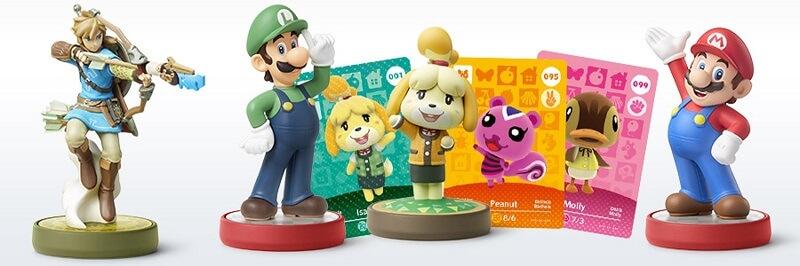 Nintendo 3DS Spiele amiibo
