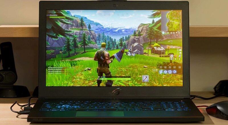 ASUS ROG Zephyrus Gaming Laptop Fortnite