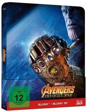 Blu-ray Steelbook Avengers Infinity War