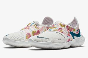 Nike Free 5.0 Natural Running Schuh Damen Anthrazit, Hellblau | online kaufen | Tennis Point