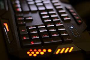 Gaming Tastatur Multimedia Tasten