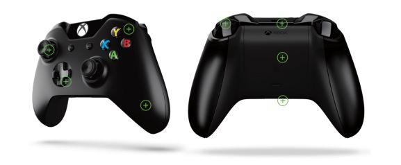 xbox one controller tasten
