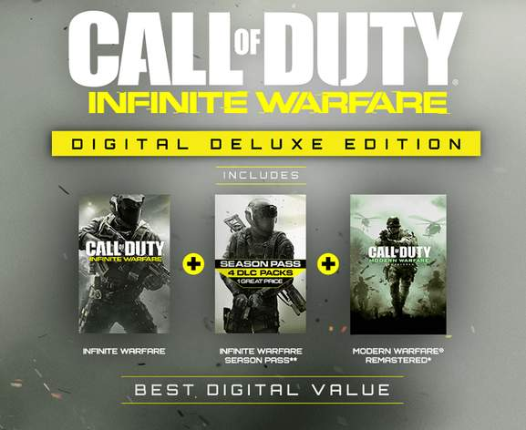 Call of Duty: Infinite Warfare Digital Deluxe Edition
