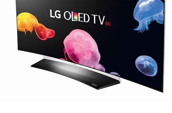55 Zoll Fernseher Curved LG OLED55C6D