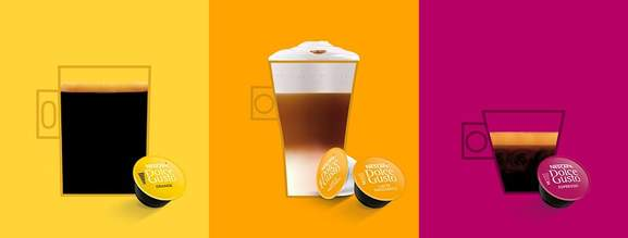 Dolce Gusto Auswahl