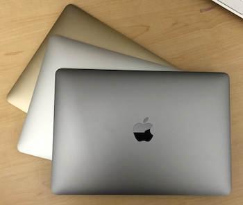 macbook versionen und farben