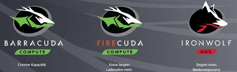 Seagate Festplatte Barracuda Firecuda Ironwolf