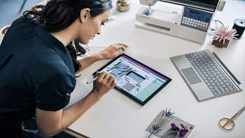 Surface 4 Pro Display