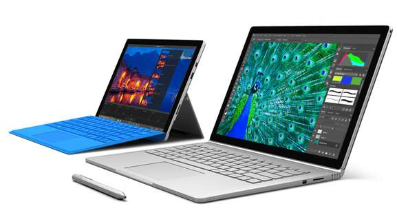 Surface Pro 4 vs Surface Book