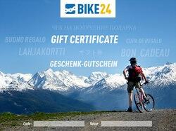 Bike24 Geschenkgutschein