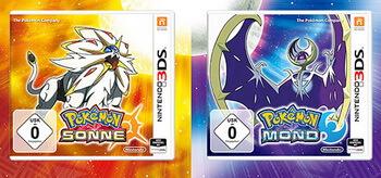Pokémon Sonne Mond Nintendo 3DS