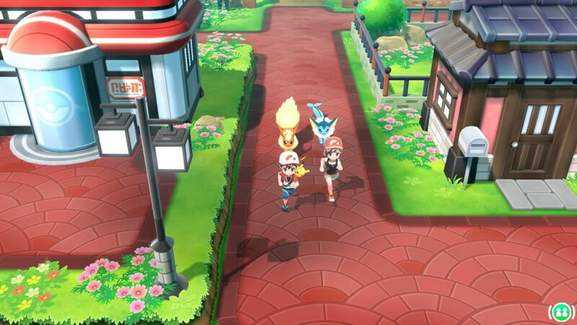Pokémon Let's Go Gameplay