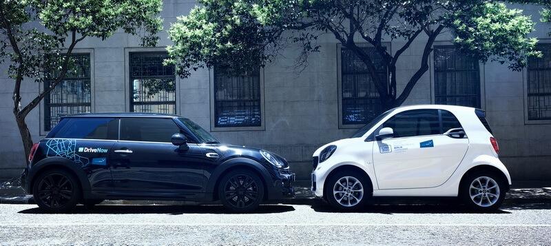 SHARE NOW DriveNow car2go Fahrzeuge