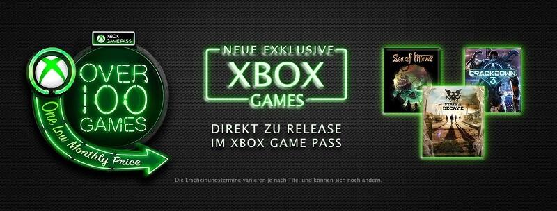 Xbox Store Game Pass