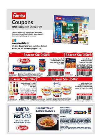 famila coupons